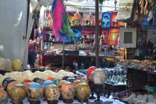 Barraquinhas na Greenmarket Square