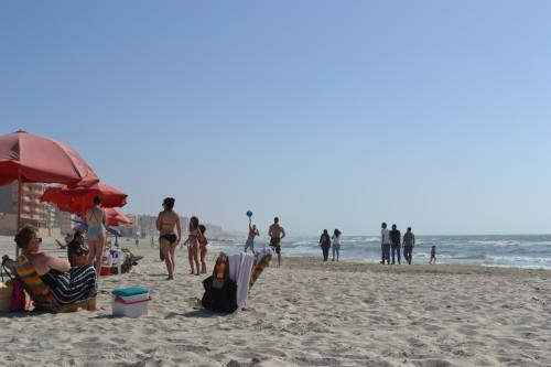 Dia de sol na praia em Alexandria :-)