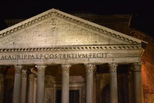 Pantheon é lindo demais, a foto não faz jus