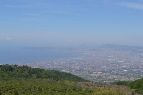 Baía pro lado de Napoli