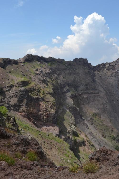 Dentro da cratera