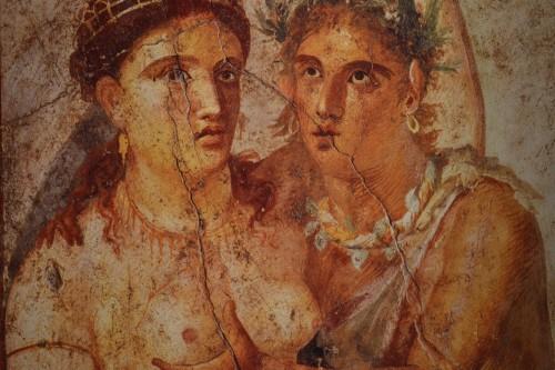 """Pegos no flagra há 2 mil anos: """"para, minha mãe vai ver a gente"""""""