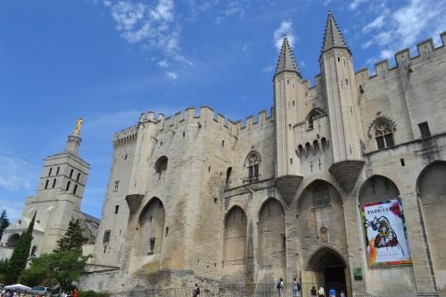 Fortaleza de Avignon no centro