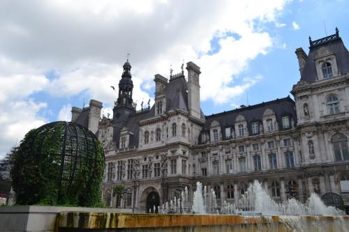 Fachada do Hôtel de Ville