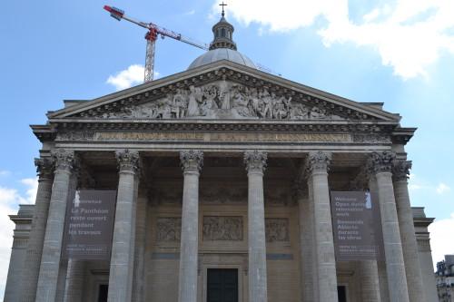Panteão em obras
