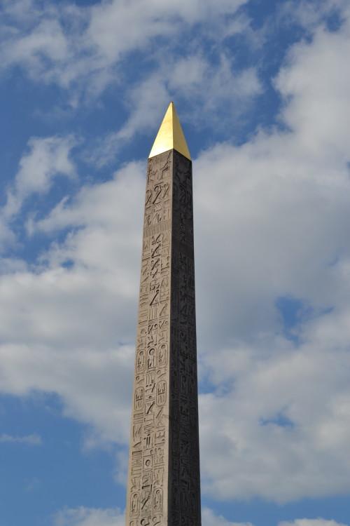 Obelisco irmão do de Luxor que vimos no Egito