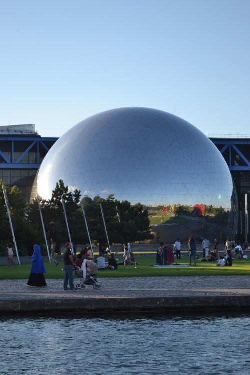 La Géode, cidade das ciências