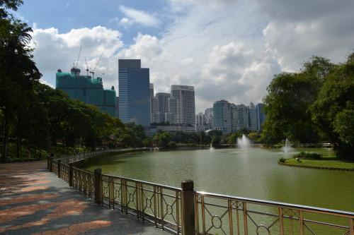 Jardim Botânico de KL, difícil de chegar mas um paraíso verde no centrão