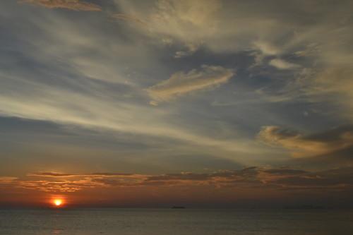 Agora a coisa ficou séria: ISSO sim é um pôr-do-sol!