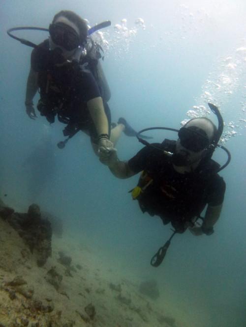 Agora sim, mergulhadores PADI!