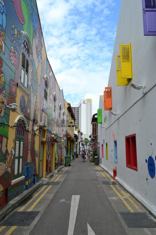 Haji Lane no bairro árabe