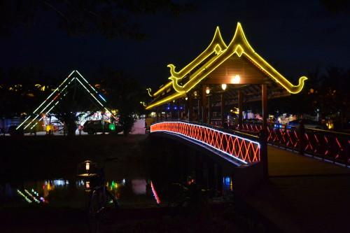 Primeira noite em Siem Reap? Ruas bonitinhas
