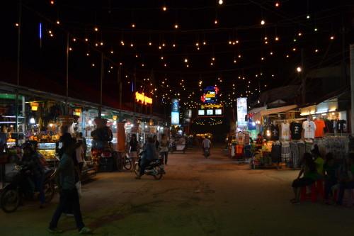 Uma das entradas no Mercado Noturno
