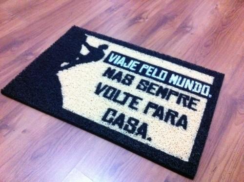 Nosso presente de partida que está guardando nos esperando em Curitiba :)