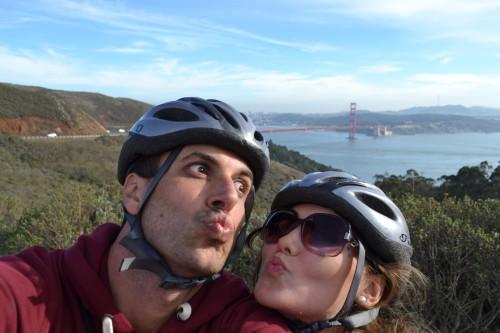 Ano novo de bicicleta por São Francisco!
