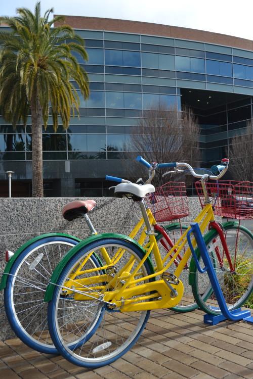 As bicicletas do Googleplex são bonitinhas