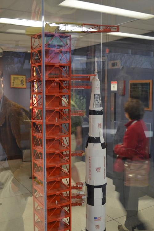 Entrando no centro de comando histórico da NASA